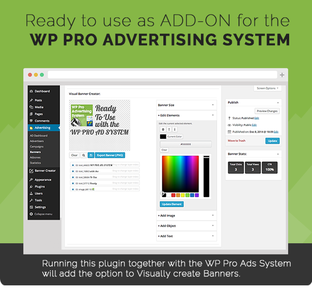 WP PRO Visual Banner Creator 5