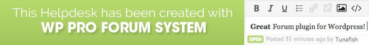 WP PRO Forum System 728